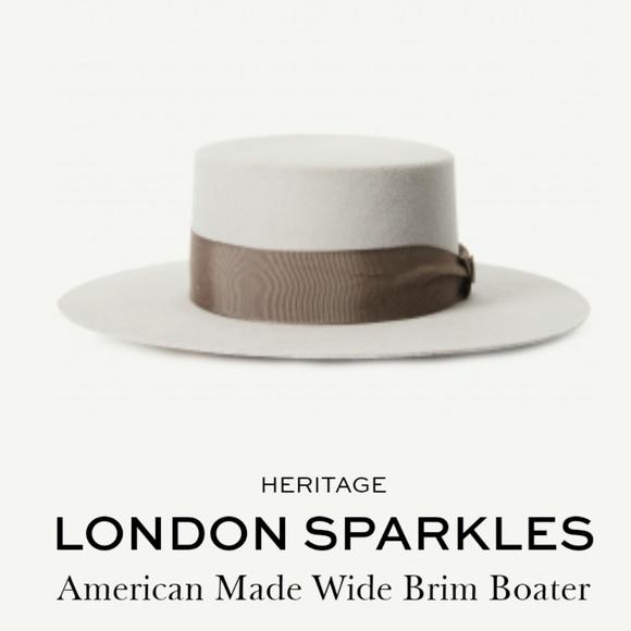 64ffcef0509e4 Goorin Bros London Sparkles in Silver NWT